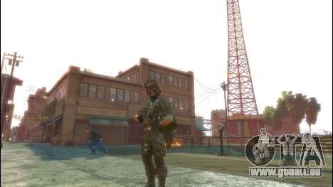 Ein russischer Soldat v1. 0 für GTA 4 dritte Screenshot
