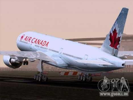 Boeing 777-200ER Air Canada für GTA San Andreas rechten Ansicht