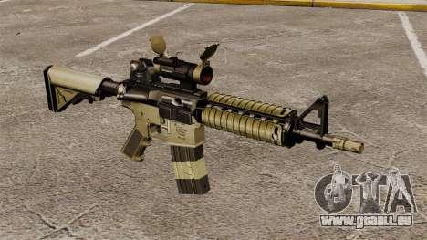 Automatique carabine M4 CQBR v1 pour GTA 4