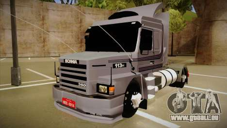 Scania 113H Top Line Neee Edit pour GTA San Andreas