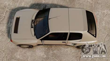Peugeot 205 Turbo 16 pour GTA 4 est un droit