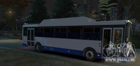 LIAZ 5256.57-01 2013 pour GTA 4 est une gauche