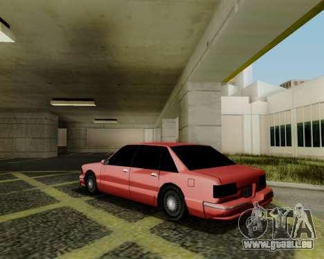 Premier tonique pour GTA San Andreas laissé vue