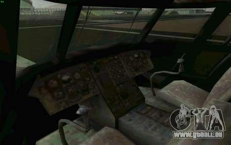 MH-47 für GTA San Andreas Innenansicht