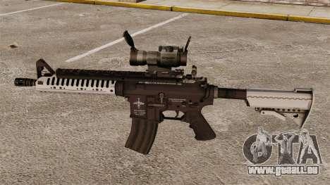 Carabine automatique v6 M4 VLTOR pour GTA 4 troisième écran