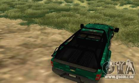 Chevrolet Silverado 3500 Military pour GTA San Andreas vue de droite