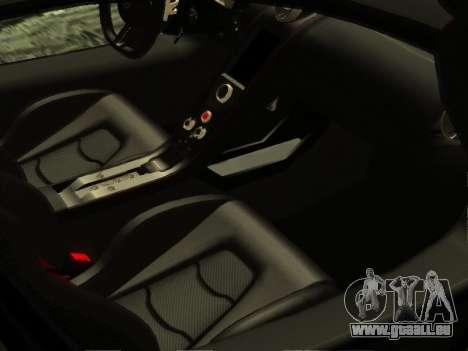 McLaren MP4-12C WheelsAndMore pour GTA San Andreas salon