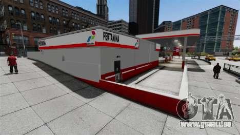 Pertamina Tankstelle für GTA 4 dritte Screenshot