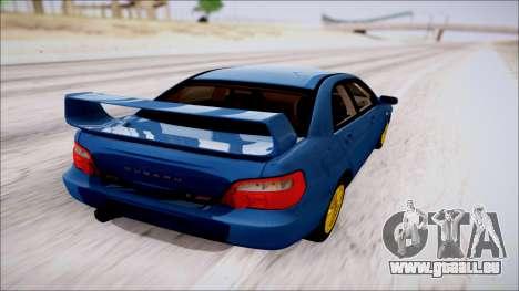 Subaru Impreza WRX STI für GTA San Andreas linke Ansicht