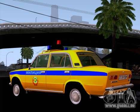 VAZ 21011 Police pour GTA San Andreas sur la vue arrière gauche