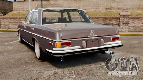 Mercedes-Benz 300 SEL 1971 pour GTA 4 Vue arrière de la gauche