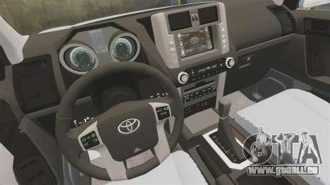 Toyota Land Cruiser Prado 150 pour GTA 4 est un côté