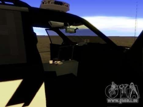 Ford Explorer 2010 Police Interceptor pour GTA San Andreas vue de droite
