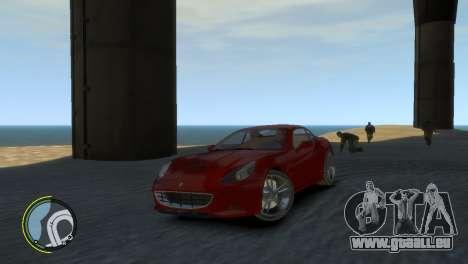 Ferrari California [EPM] für GTA 4 Rückansicht