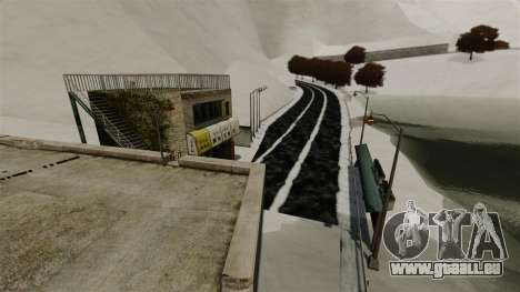 Endroit enneigé sanquer pour GTA 4 secondes d'écran