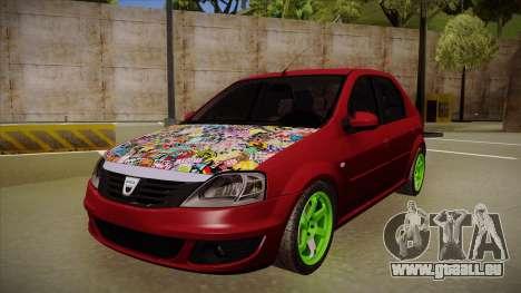 Dacia Logan Hellaflush für GTA San Andreas