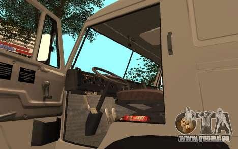 KAMAZ LKW 53115 für GTA San Andreas Rückansicht