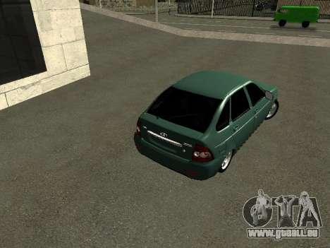 VAZ-2172 pour GTA San Andreas vue de droite