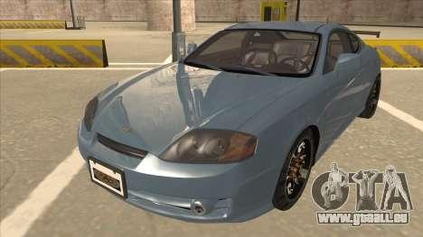 Hyundai Coupe V6 Soft Tuned v1 pour GTA San Andreas