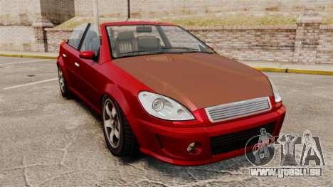 Version cabriolet du premier ministre tuning pour GTA 4