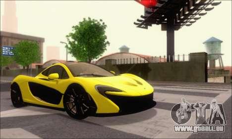 McLaren P1 EPM pour GTA San Andreas