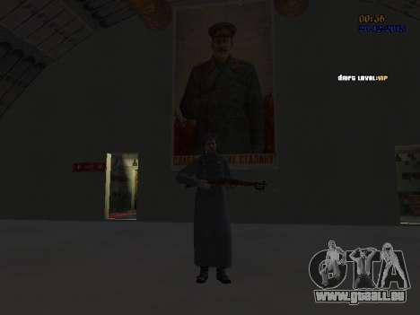 Colonel général de la force aérienne soviétique pour GTA San Andreas huitième écran