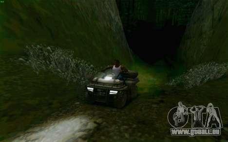 ATV der Medal Of Honor für GTA San Andreas Seitenansicht