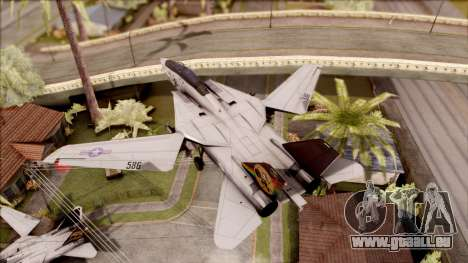 USA Navy Hydra für GTA San Andreas zurück linke Ansicht