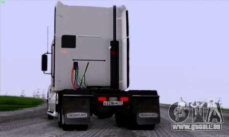 Freightliner Columbia pour GTA San Andreas vue arrière