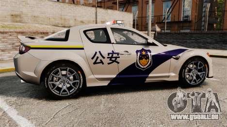 Mazda RX-8 R3 2011 Police pour GTA 4 est une gauche