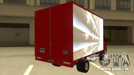 JAC 1040 für GTA San Andreas rechten Ansicht