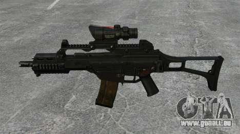Automatische HK G36C v3 für GTA 4 dritte Screenshot