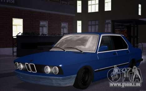 BMW 5-er E28 Tramp pour GTA San Andreas