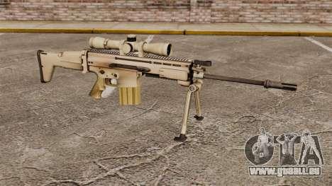 Fusil automatique Mk 17 SCAR-H pour GTA 4