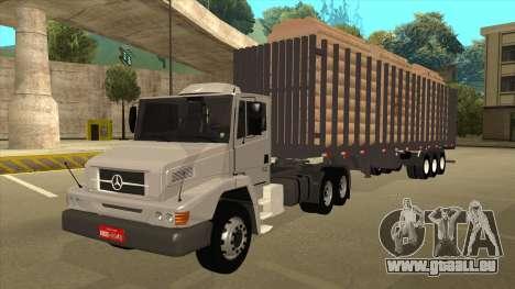 Mrecedes-Benz LS 2638 Canaviero pour GTA San Andreas vue arrière