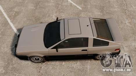 Mise à jour Blista pour GTA 4 Vue arrière de la gauche