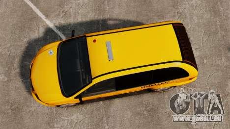 Dodge Grand Caravan 2005 Taxi NYC für GTA 4 rechte Ansicht