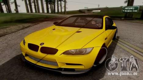 BMW M3 E92 Hamann für GTA San Andreas linke Ansicht