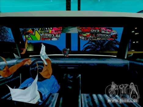 Admiral für GTA San Andreas zurück linke Ansicht