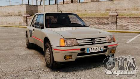 Peugeot 205 Turbo 16 für GTA 4