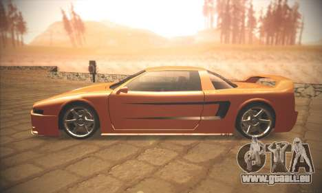 Infernus One für GTA San Andreas linke Ansicht