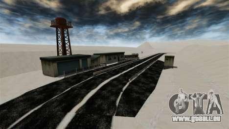 Endroit enneigé sanquer pour GTA 4 neuvième écran