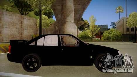 Lotus Carlton für GTA San Andreas zurück linke Ansicht