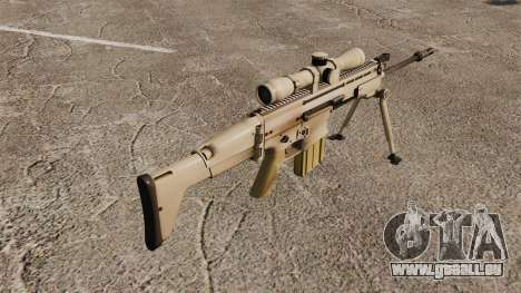 Fusil automatique Mk 17 SCAR-H pour GTA 4 secondes d'écran