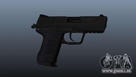 Pistolet HK45C v1 pour GTA 4 troisième écran