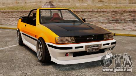 Version cabriolet de Futo pour GTA 4