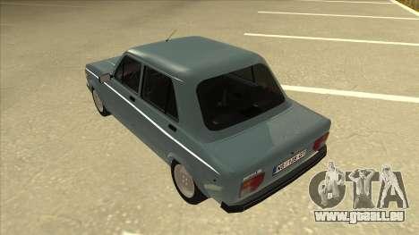 Zastava 128 Stock pour GTA San Andreas vue arrière