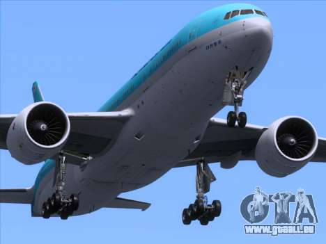Boeing 777-2B5ER Korean Air pour GTA San Andreas salon