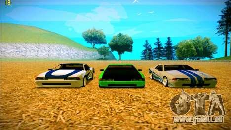 Paintjobs EQG Version for Elegy pour GTA San Andreas cinquième écran
