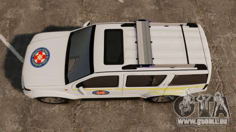 Nissan Pathfinder HGSS [ELS] für GTA 4 rechte Ansicht